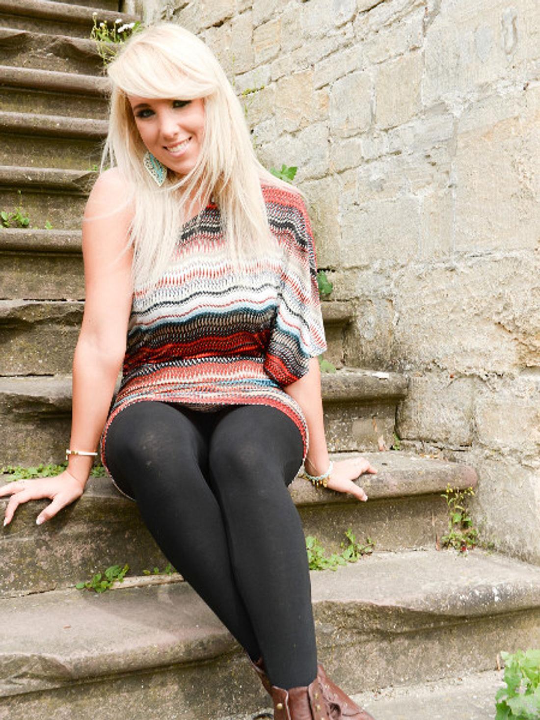 Annemarie Eilfeld glaubt, dass sie ganz besondere Füße hat