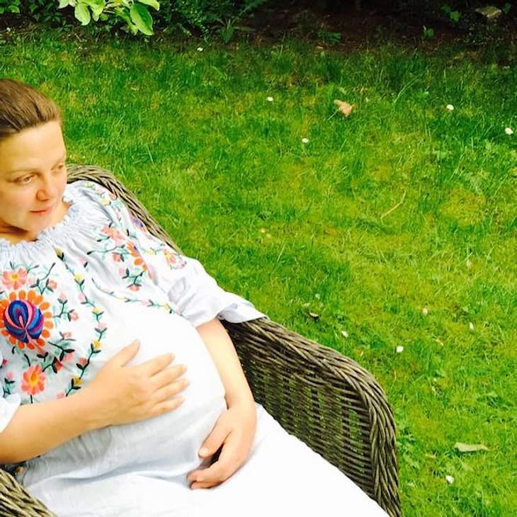 Annett Louisan: mit süßem Babybauch
