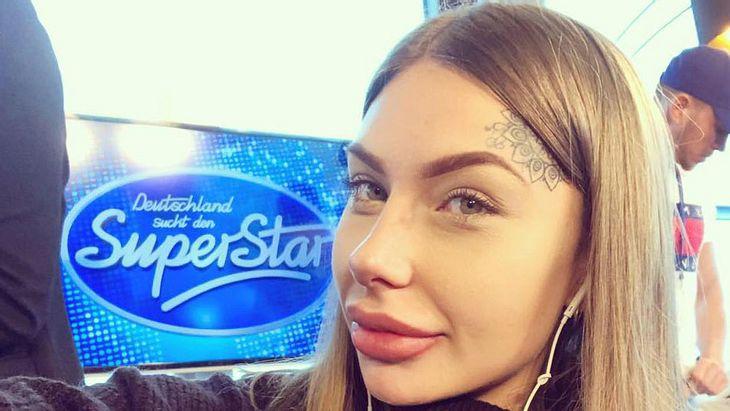 """Antonia Komljen als Kandidatin bei """"DSDS"""""""