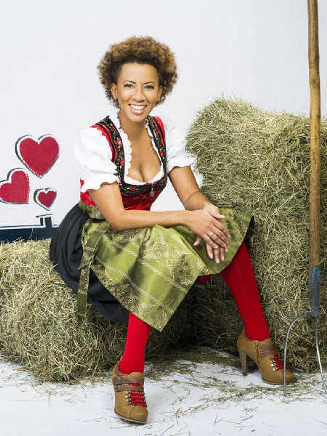 """""""Bauer sucht Frau""""-Moderatorin Arabella Kiesbauer."""