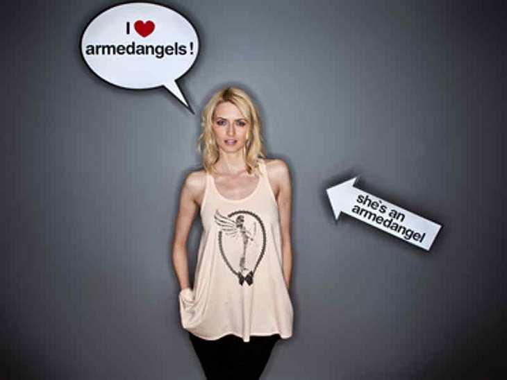 "undefined Eva Padberg designt für Social-Fashion-Label ""Armedangels"""