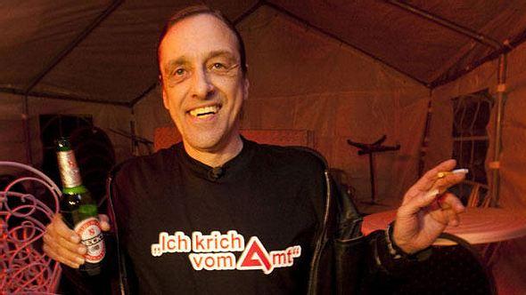 Arno Dübel ist auch heute der König der Arbeitslosen - Foto: Imago