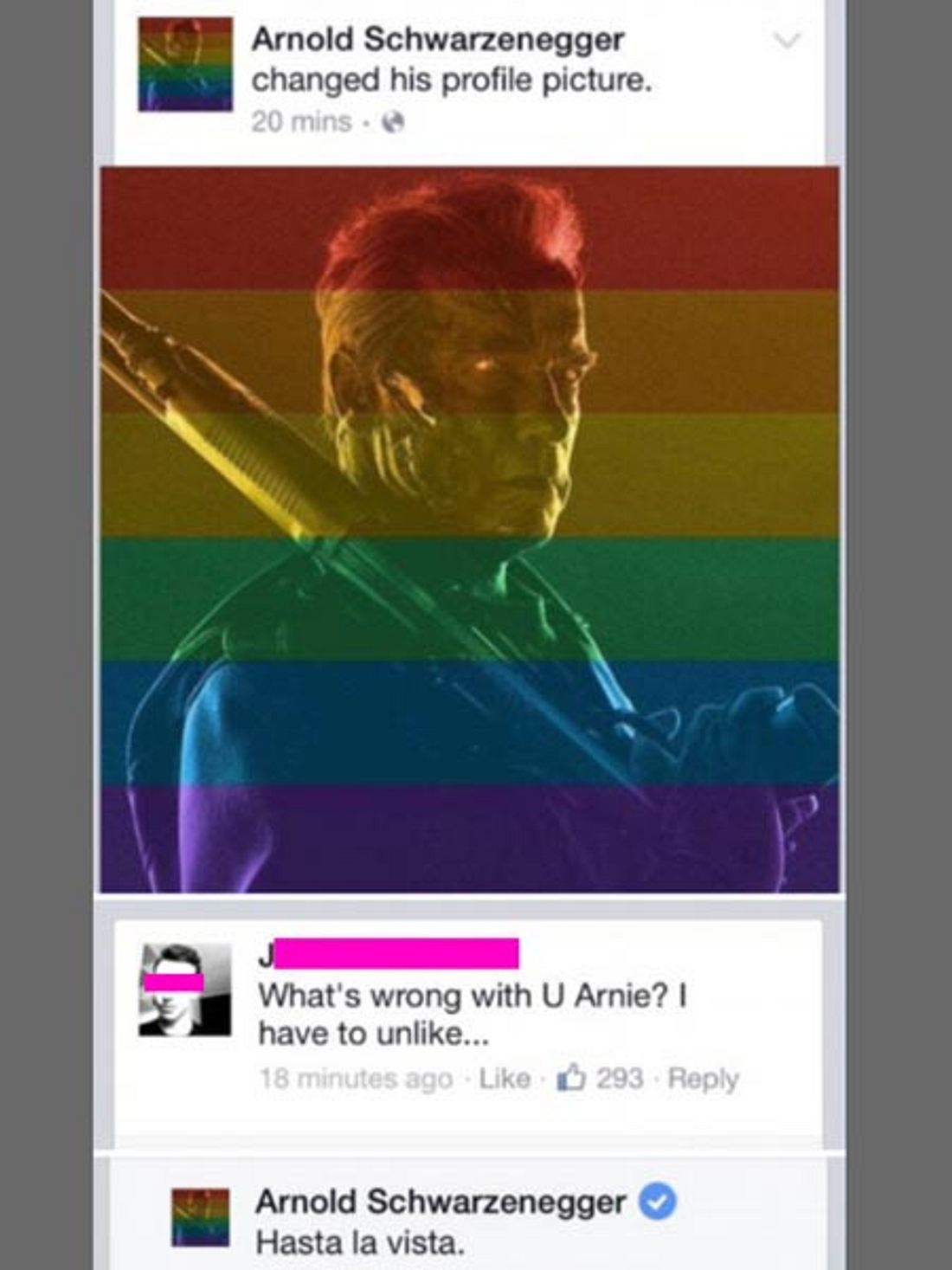 Die coolste Antwort auf Schwulenhass