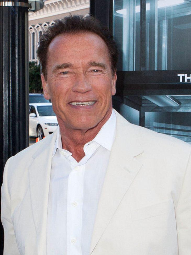 Arnold Schwarzenegger bereut seine Affäre.