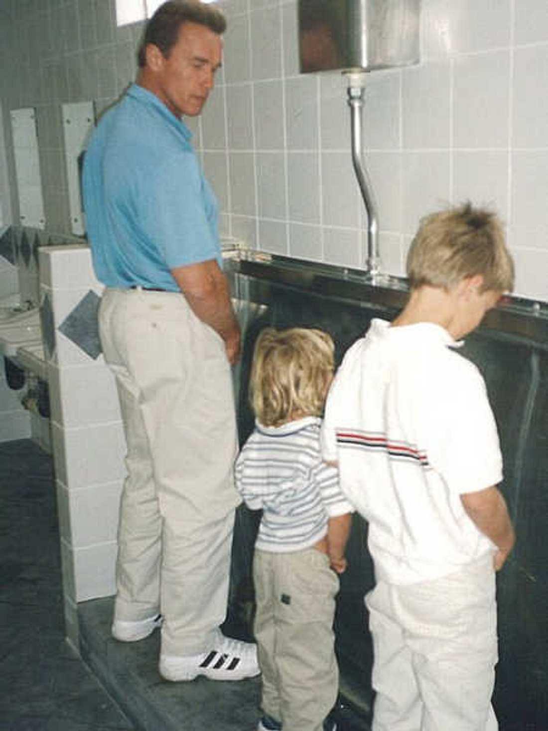 Mit diesem Bild gratulierte Arnold Schwarzenegger seinem Sohn zum Geburtstag.
