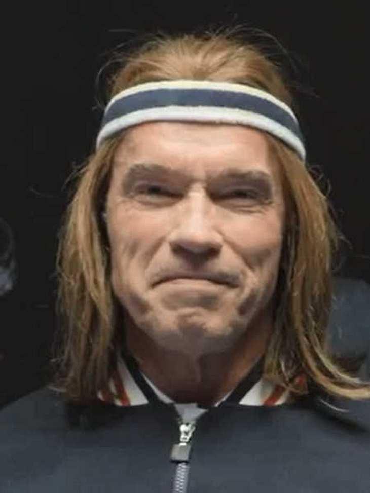 Arnold Schwarzenegger in dem Werbespot für die US-Biermarke.