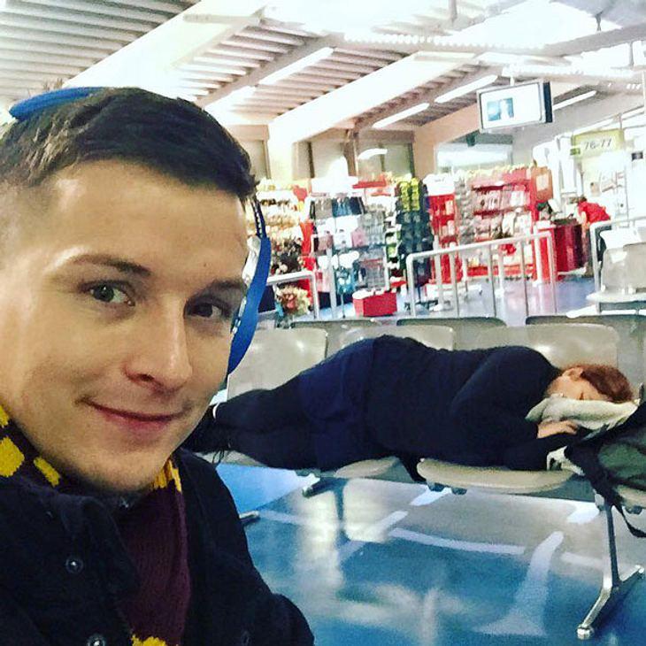 Aaron Troscke macht Urlaub mit seiner Mutter
