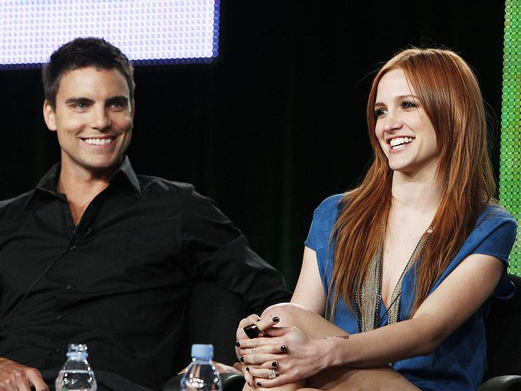 "Knister, knister? Ashlee Simpson soll sich auffallend gut mit ""Melrose Place""-Co-Star Colin Egglesfield verstehen..."