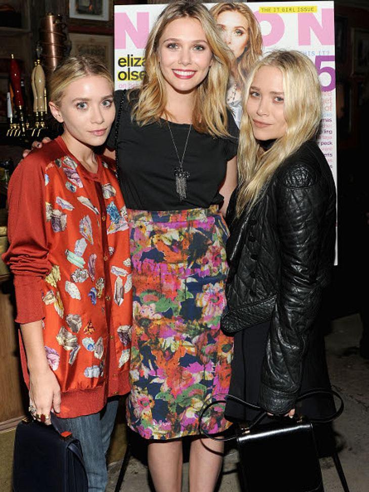Die heißesten Promi-GeschwisterMary-Kate (25, r.) und Ashley Olsen (25, l.) haben sich ja längst einen Namen als Schauspielerinnen und Designerinnen gemacht.Doch jetzt startet noch ein Mitglied der Olsen-Familie durch. Elizabeth Olsen (23,