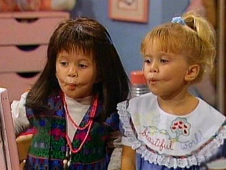 """Vom Kinderstar zum Sex-SymbolSo süß! Diese beiden frechen Gören legten den Grundstein für Karriere 1987 mit der Serie """"Full House"""". Damals waren sie gerade mal ein Jahr alt!,"""