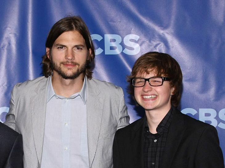 Zwischen Ashton Kutcher und Angus T. Jones herrscht dicke Luft