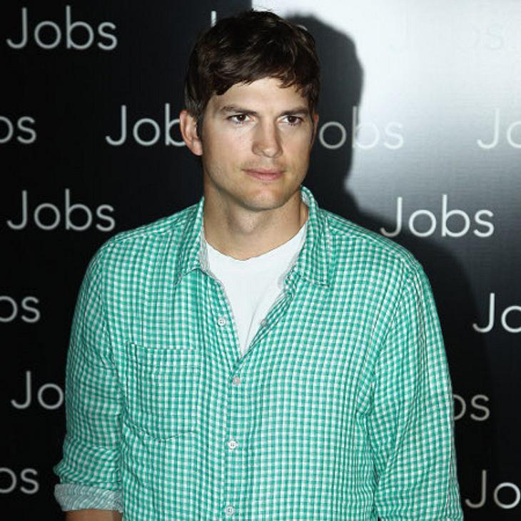 Ashton Kutcher hat Glück gehabt
