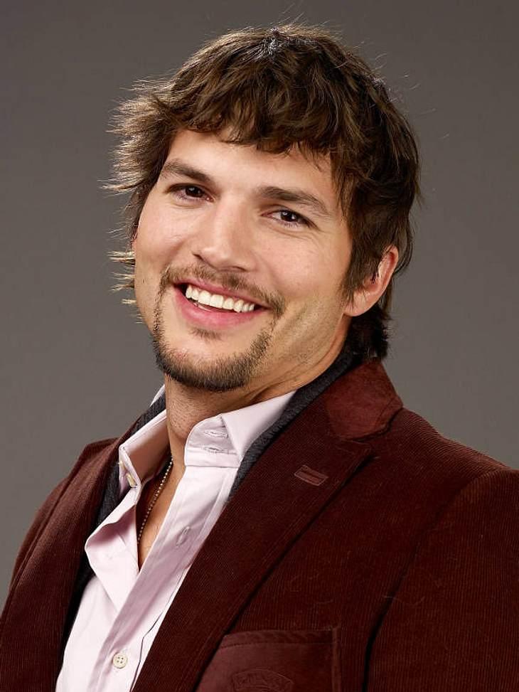 """Ashton Kutcher spielt jetzt bei """"Two and a half Men"""" mit."""