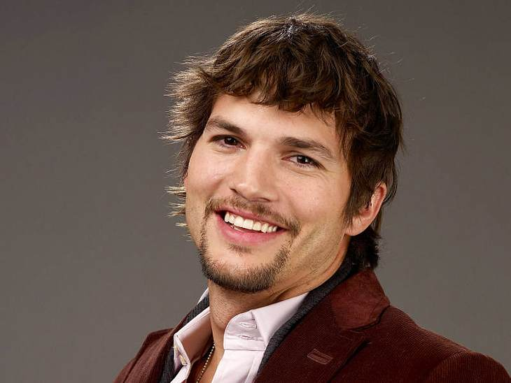 """Ashton Kutcher wird bei """"Two and a half men"""" Walden Schmidt spielen: ein Milliardär mit Liebeskummer"""