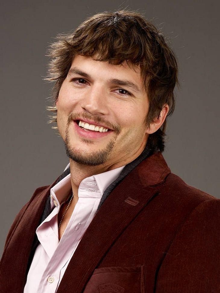 Ashton Kutcher hat nachdem Ehe-Aus mit Demi Moore schon wieder gut lachen.