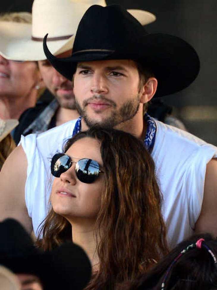 Für Ashton Kutcher hat die Familie Priorität.