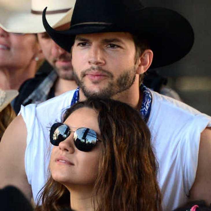 Ashton Kutcher & Mila Kunis: Endlich ist das Baby da!