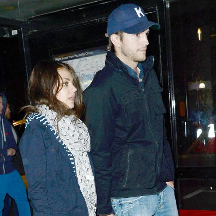 Mila Kunis und Ashton Kutcher schmieden Hochzeitspläne