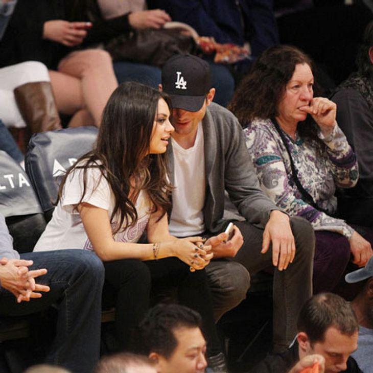 Mila Kunis und Ashton Kutcher ziehen zusammen.