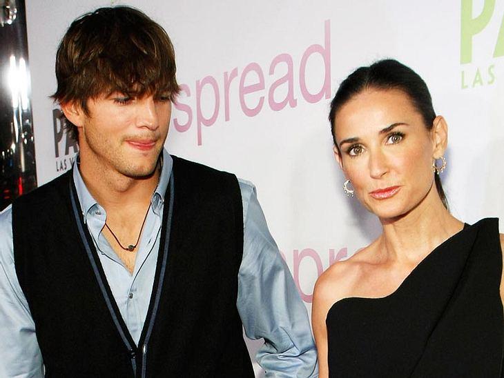 Demi Moore und Ashton Kutcher streiten ums Geld