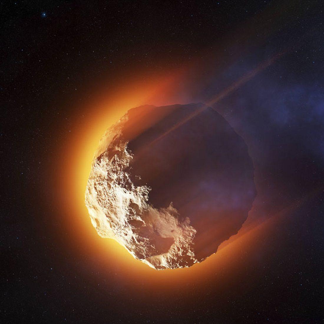Der Asteroid  3200 Phaeton rast auf die Erde zu!