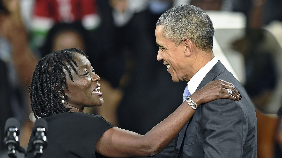 Auma Obama und Barack Obama - Foto: GettyImages