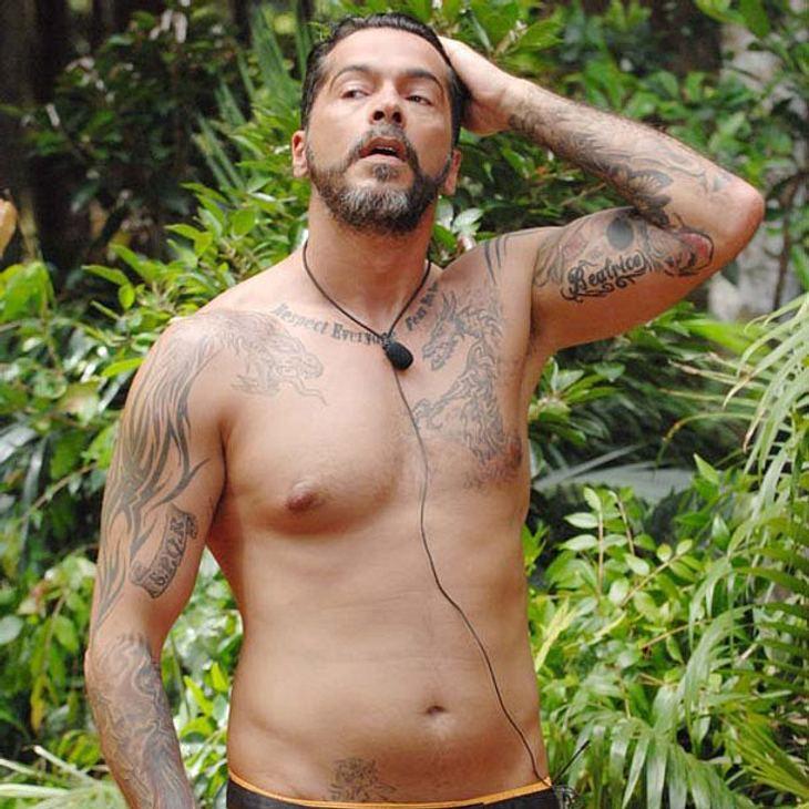 Aurelio Savina im Dschungelcamp