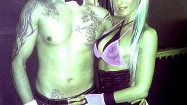 Sieben Jahre waren Aurelio Savina und Beatrice Julia ein Paar. - Foto: Facebook / July Diamond - BABESTATION24TV
