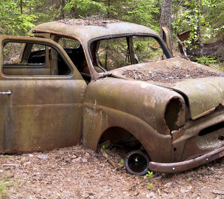 Auto vergammelt 20 Jahre lang (Symbolfoto)
