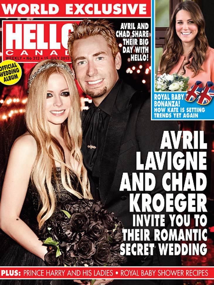Avril Lavigne zeigt ihr Brautkleid