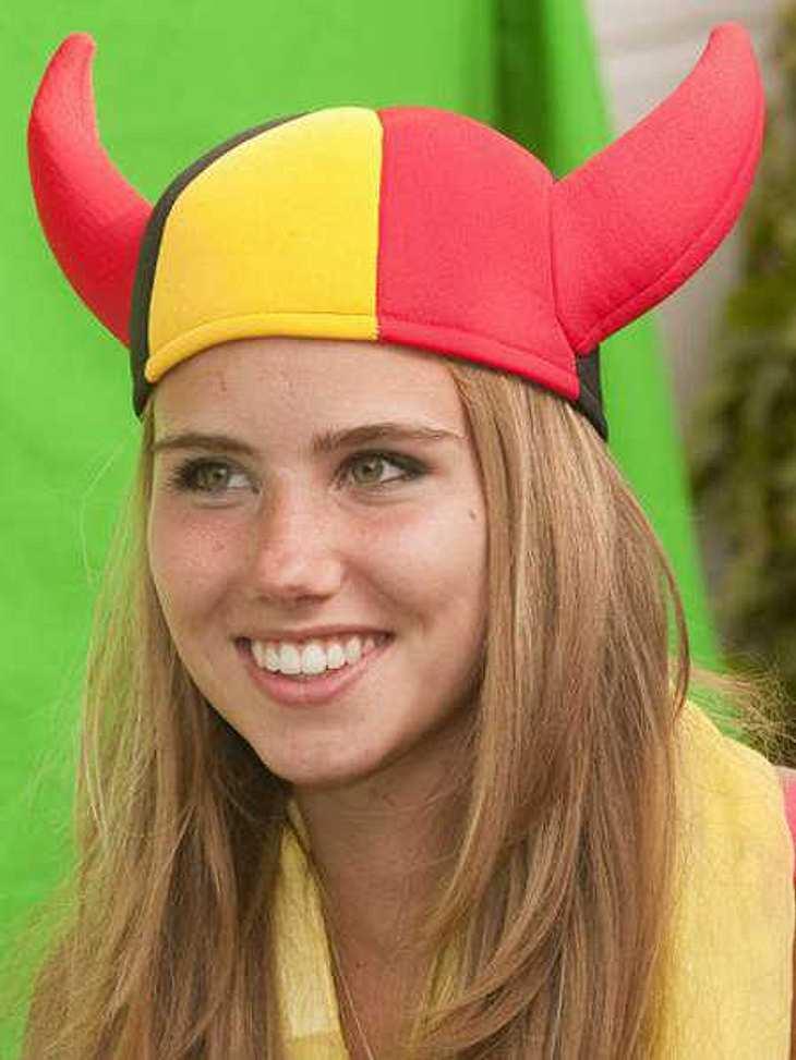 Axelle Despiegelaere bekam einen Model-Vertrag, weil sie so schön bei der WM jubelte.