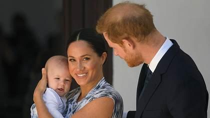 Herzogin Meghan, Prinz Harry und Sohn Archie - Foto: imago