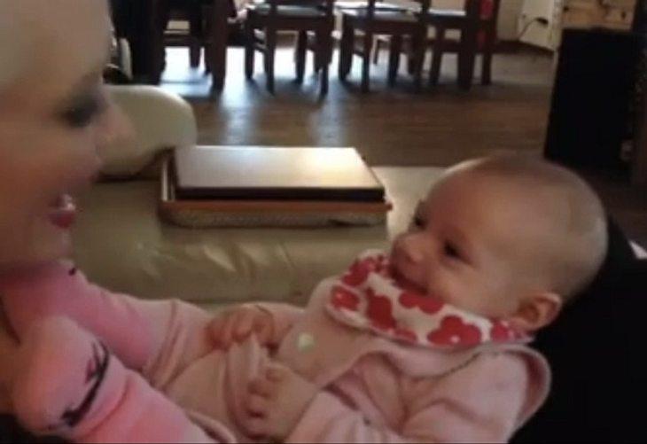Süße Kichererbse: Lucas Cordalis zeigt Video von Sophia