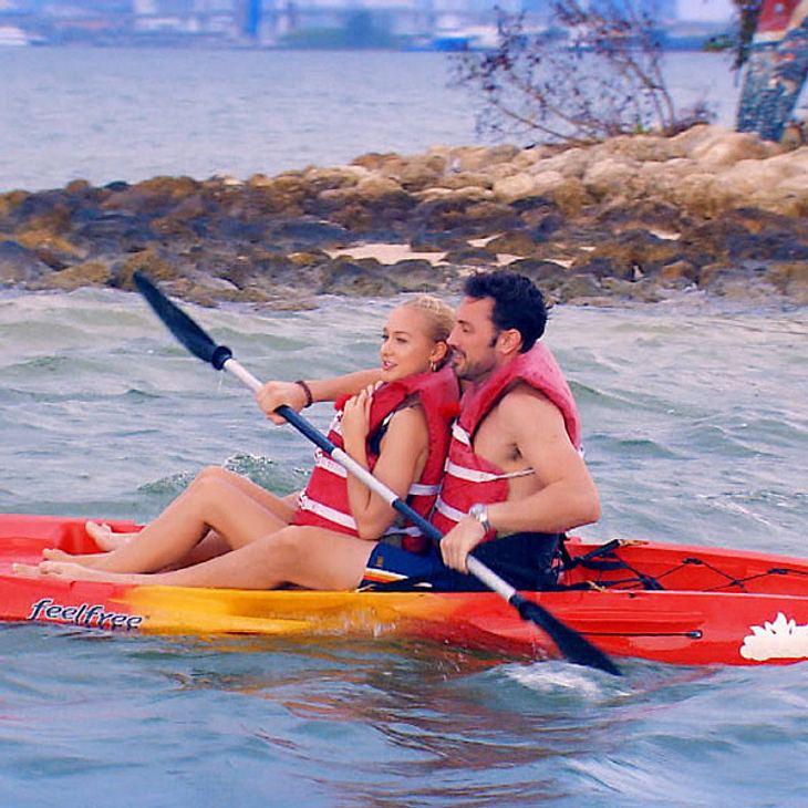 Kayakfahren zu zweit