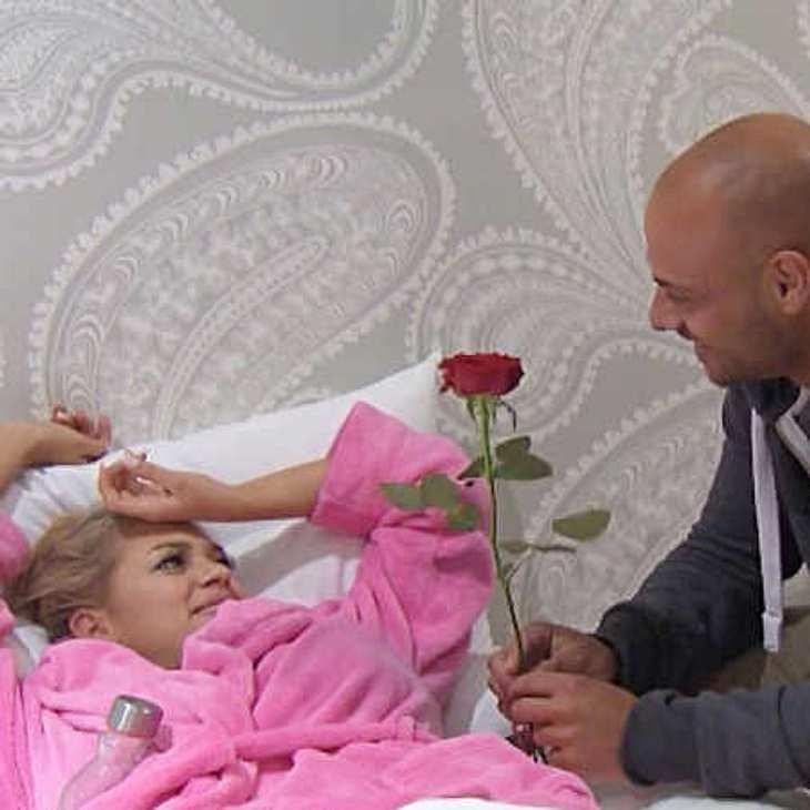 Jessica bekommt heute die erste Rose
