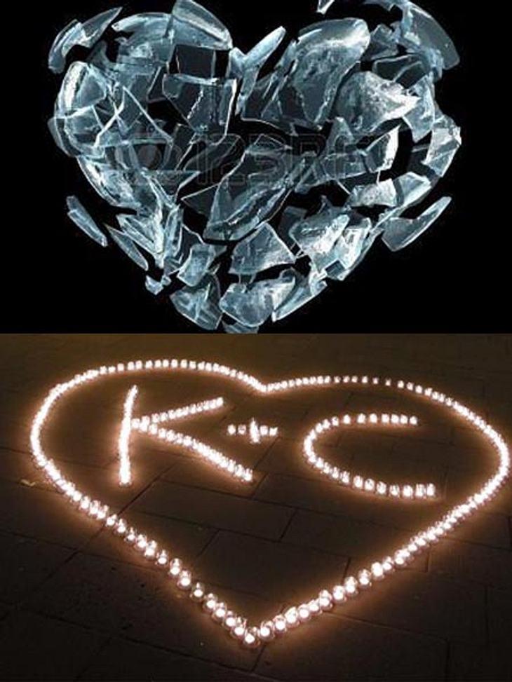 Diese Herzen posteten Angelina und Katja