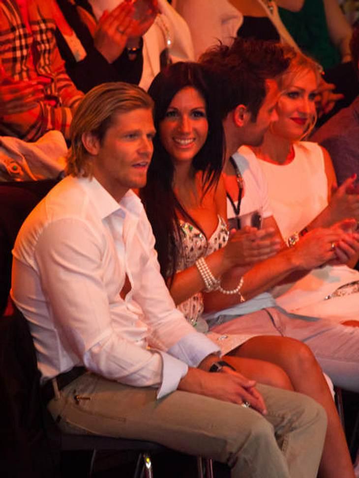 """""""Let's Dance"""" 2012 - Die HighlightsIm Publikum: """"Bachelor"""" Paul Janke (30) und seine Ex-Freundin Anja Polzer"""