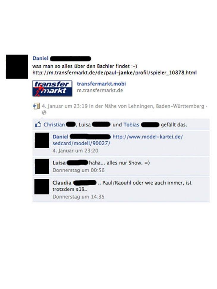 """""""Der Bachelor"""" 2012: Jeder kennt Paul Janke,Auch seine Model-Kartei ist online zu finden."""
