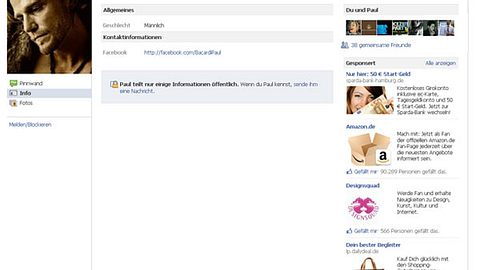 Der Bachelor 2012: Jeder kennt Paul Janke - Bild 1 - Foto: Screenshot Facebook