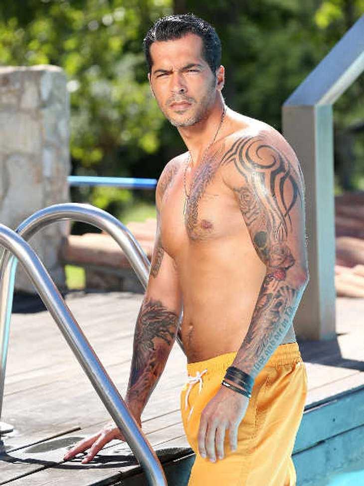 Bachelorette-Kandidat Aurelio haben schon viele Frauen nackt gesehen.