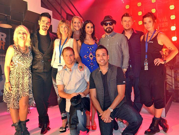 Die Backstreet Boys zu Besuch im Mauerwerk