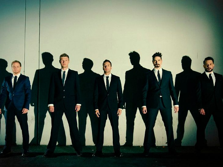 "Die ""Backstreet Boys"" - alle wieder vereint"