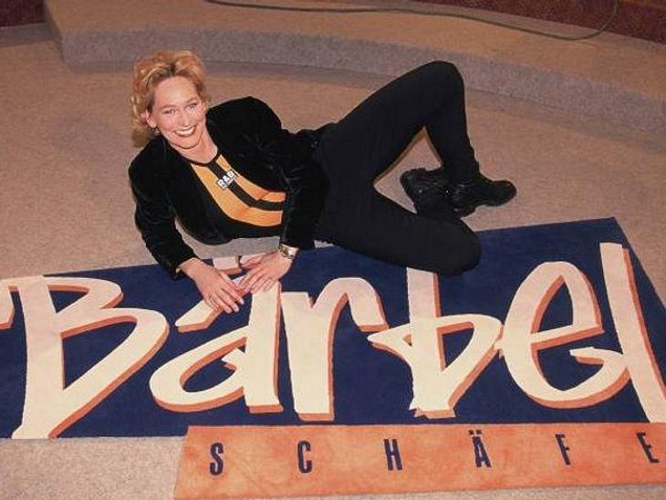 """Die Talkshow-Moderatoren der 90erSieben Jahre lang lief ab 1995 die Talkshow von Bärbel Schäfer. 1996 bekam sie dafür sogar die """"Goldene Kamera"""" verliehen. Heute ist sie nicht nur Testimonial für """"Weight Watchers"""", sie m"""
