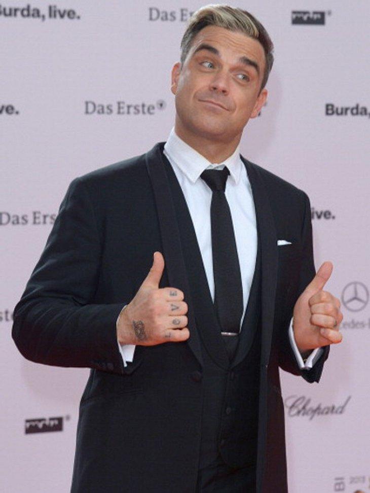 Robbie Williams freut sich auf einen Sohn