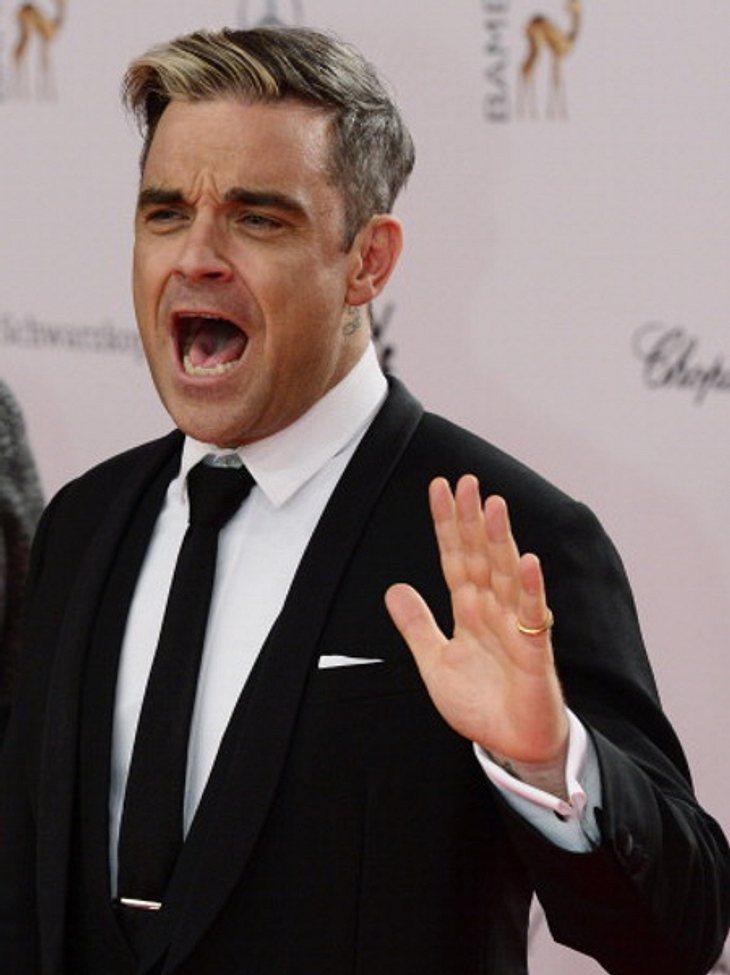 Robbie Williams will alle schwängern, die sein Album kaufen!