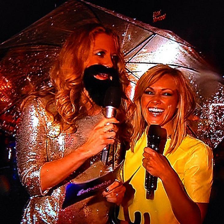 Promis tragen den Conchita-Bart: