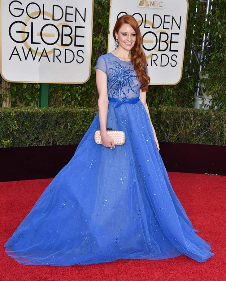 Barbara Meier bei den Golden Globes