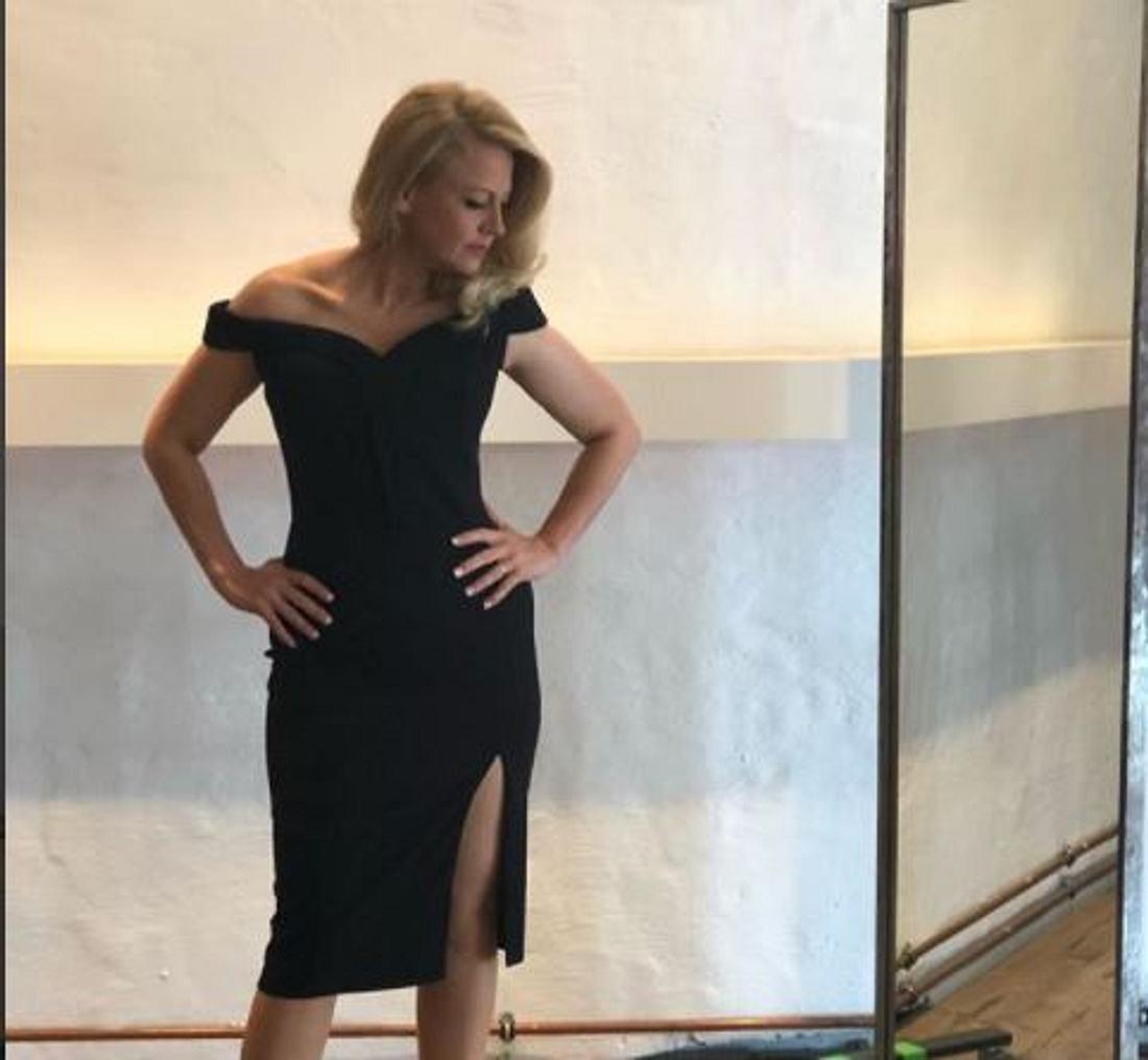 Barbara Schöneberger zeigt sich super schlank!