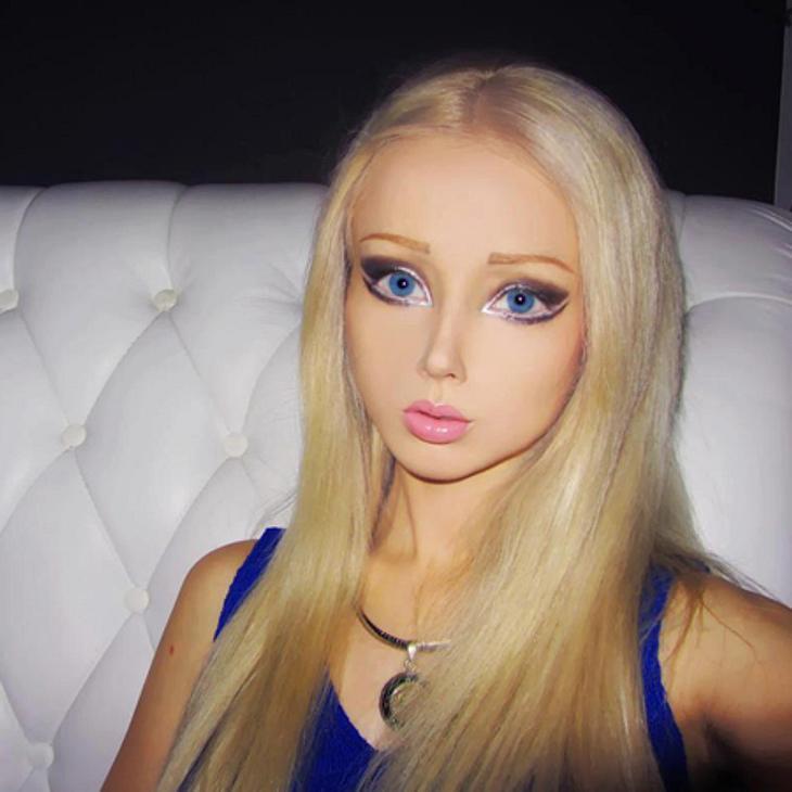 """""""Real Life""""-Barbie Valeria Lukyanova: Schön oder schaurig?Ein Gesicht wie zu einer Maske erstarrt."""