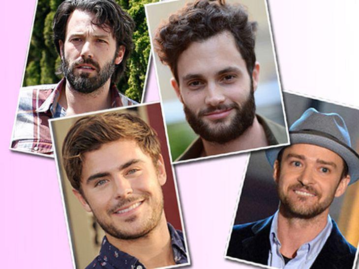 Sexy oder zottelig? Die Stars stehen auf BartWild, verwegenen und einfach männlich: Ein Bart macht jeden Milchbubi zum echten Kerl. Das scheinen sich zumindest Zac Efron, Justin Timberlake & Co. zu denken.Oder liegt's daran, dass die St